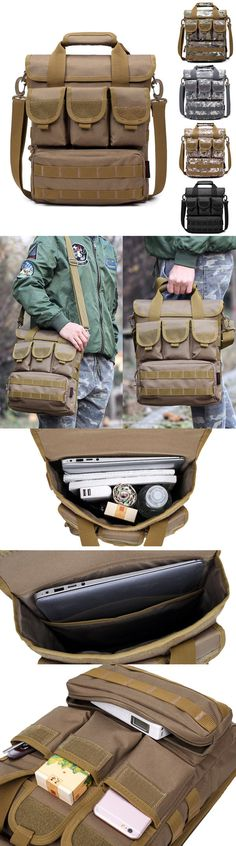 $22.28 Outdoor Sports Hiking Multi-pocket large capacity Sling Bag Handbag For Men