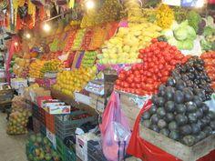 Mexico City's food market