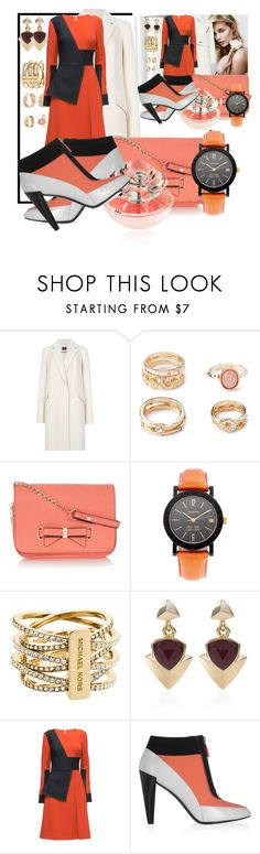 """Untitled #267"" by deloysfashions ❤ liked on Polyvore featuring Forever 21, Oasis, Bulgari, Michael Kors, White House Black Market, Lattori, Kenzo and Guerlain"