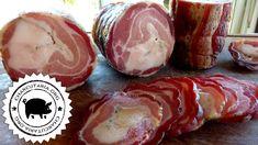 Pancetta Artesanal Charcuterie, Salami Recipes, Italian Street Food, Pork Belly Recipes, Peruvian Recipes, Italian Recipes, Sausage, Food And Drink, Cooking Recipes