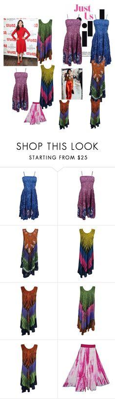 """Bohemian Fall Fashion Dress"" by tarini-tarini ❤ liked on Polyvore featuring Salvatore Ferragamo"