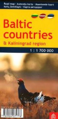 Baltic Countries and Kaliningrad Region, pocket-size by Jana Seta