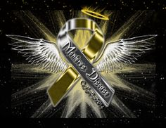Menieres Disease Ribbon Angel