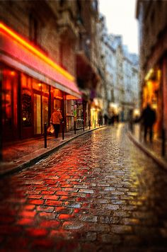 Latin Quarter - Paris, France - latin influences in cross sections and streets can bring a creative and soothing feel to local businesses.