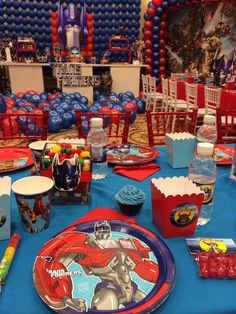 Transformers Birthday Party Ideas | Photo 3 of 45 | Catch My Party