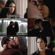 Damon & Elena The Vampire Diaries. Elena thought