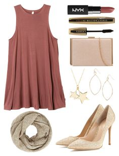 """Untitled #1112"" by amyburns567 ❤ liked on Polyvore featuring RVCA, Gianvito Rossi, Latelita, Carole, L'Oréal Paris and John Lewis"