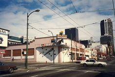 1989 image of Seymour Billiards, Seymour St. Vancouver Bc Canada, Downtown Vancouver, Vintage Photography, West Coast, Old Photos, Beautiful Homes, Cities, The Past, Ocean