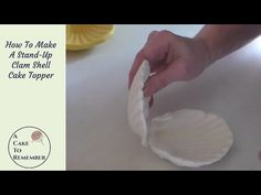 Large two-piece clamshell silicone mold press to make a 3D clamshell. Great for open clam shell cake toppers and mermaid cakes. Use with gumpaste, fondant, polymer clay or pmc.