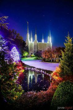 Washington DC,  LDS Temple                                                                                                                                                                                 More