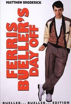 Paramount Studios Ferris Bueller's Day Off: Bueller...Bueller Edition
