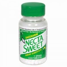Necta Sweet Saccharin Tablets, 1 Grain, 1000 Tablet Bottle (Pack of 2) ** Read more reviews of the product by visiting the link on the image.