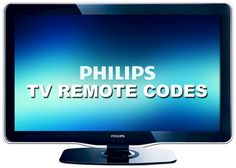 Remote Control Codes For Philips TVs