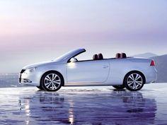 White VW Eos <3