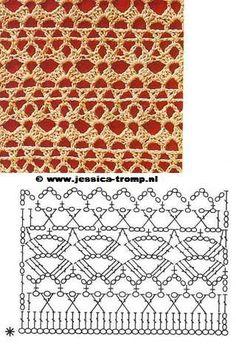 El mundo del crochet.: marzo 2009