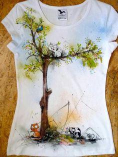 Tshirt boyama