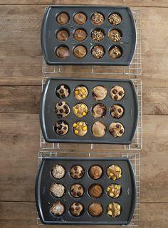 5 ingredient blender muffins--15 flavor variations! NO flour. NO oil. NO sugar.