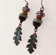 Earrings Everyday Wrap Me Up earrings by Heather Powers.