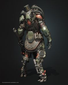 The next member of the trickstership team. Many thanks for your help and support Sergey Gricay https://www.artstation.com/sergeygricay The work used awesom materials and bolts. https://gumroad.com/1squad