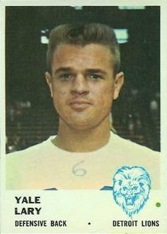 1961 Fleer #85 Yale Lary Front