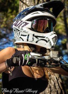 Motocross girls #motocross #motocrossgirls See more at http://www.fashionisly.com