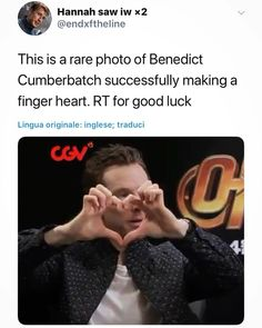 3 cheers for Benedict Cumberbatch. I get the feeling Tom Holland showed him how to successfully do this. They've spent a lot of time together lately. Marvel Comics, Marvel Memes, Marvel Dc, Martin Freeman, Fandoms, Noragami, Teenager Mode, Sebastian Stan, Benedict And Martin