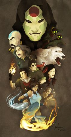 OH MY GOSH i finally finished it. I thought it would be finished sooner but t. Legend of Korra Avatar Aang, Avatar The Last Airbender Funny, The Last Avatar, Team Avatar, Avatar Airbender, Avatar Cartoon, Avatar Funny, Bubbline, Korrasami