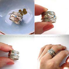 Кольца с камнями, двойные кольца от Dorada Jewelry | DORADA Jewelry