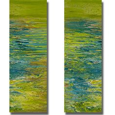 Artist: Roberto Gonzales, Title: The Lake I and II