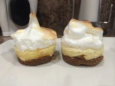 My easy to bake homemade delicious mini Merengue Key Lime Pie