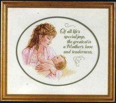 Gráficos ponto cruz da drica: Dia da mães