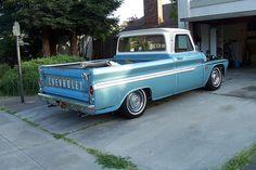 1966 Chevy Truck by 66' Custom, via Flickr