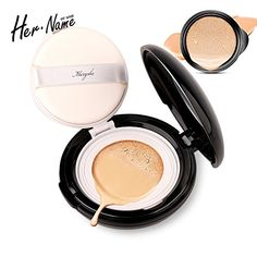 Her name face primer makeup Cushion powder Cream concealer makeup base Brighten liquid foundation facial make up whitening ** Want additional info? Click on the image.