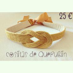 Cinturon nudo marinero 25 €. Envios toda España 1 d9d5766ef8f8