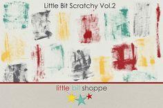 Little Bit Scratchy Vol.2 by Little Bit Shoppe on @creativemarket