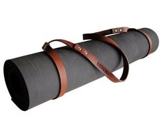 Made of top-quality genuine Austin leather, this elegant strap was designed to make the transport of your yoga mat comfortable yet stylish. Further, it can be used to carry a blanket to the beach or park. It contains no unnecessary hardware or stitching and the buckle-free closures on each looped end adjust to fit mats of any size. A special conditioner—composed of natural ingredients—is applied to the straps to preserve, weather-proof, and ensure that the leather is resistant to mildew…