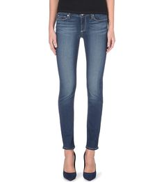PAIGE DENIM Skyline skinny mid-rise jeans £200.00   Easton