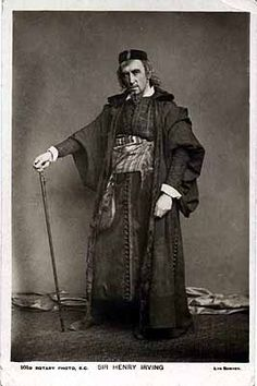 Henry Irving performing the character of Shylock