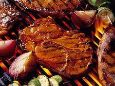 Palette de porc barbecue