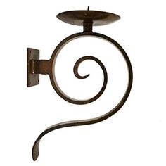 Jan Barboglio Library Wall Sconce - handcrafted forged ornamental iron. $490
