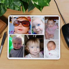 Personalized Collage Photo Mouse Pad