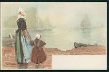 art Cassiers Dutch Holland vintage original old 1900s postcard d