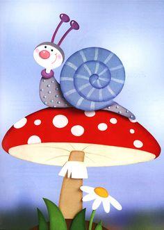 Foam Crafts, Preschool Crafts, Diy And Crafts, Crafts For Kids, Autumn Crafts, Spring Crafts, Art Drawings For Kids, Art For Kids, Mushroom Crafts