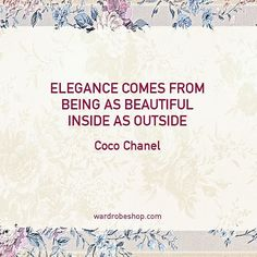 #wardrobeshop #vintage #fashion #style #quotes #qoute #fashionquotes #quotestagram #quotesoftheday #truewords⠀⠀ #followme #wedding #vintagestyle #cocochanel #cocochanelquotes