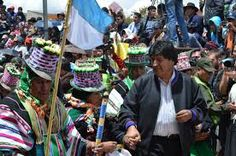 Morales llama a pueblos indígenas a combatir el capitalismo y el colonialismo