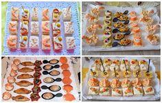 ESPECIAL CANAPÉS : 4 bandejas y 17 canapés para elegir