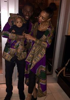 African/ethnic /dashiki couple outfit by AFROCOLLECTION2015