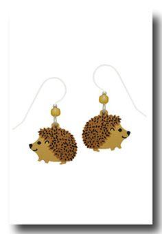 Hedgie earrings