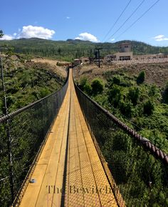 Visiting Kelowna Mountain Bridges in Kelowna, British Columbia. This is a fun activity for the whole family while visit the Okanagan.