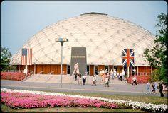 World's Fair Pavilion designed by TC Howard of Synergetics, Inc 1964-5 NY